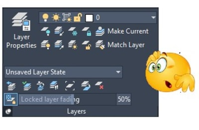 Layers Panel AutoCAD