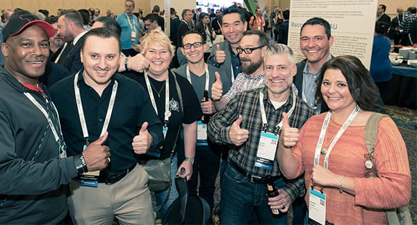 Autodesk University attendees