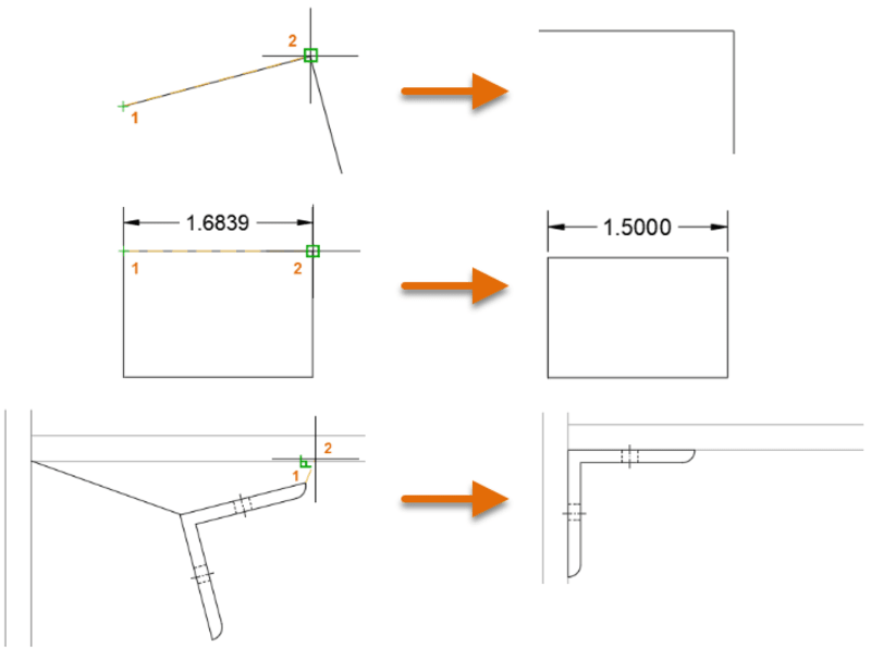 rotate and scale in AutoCAD