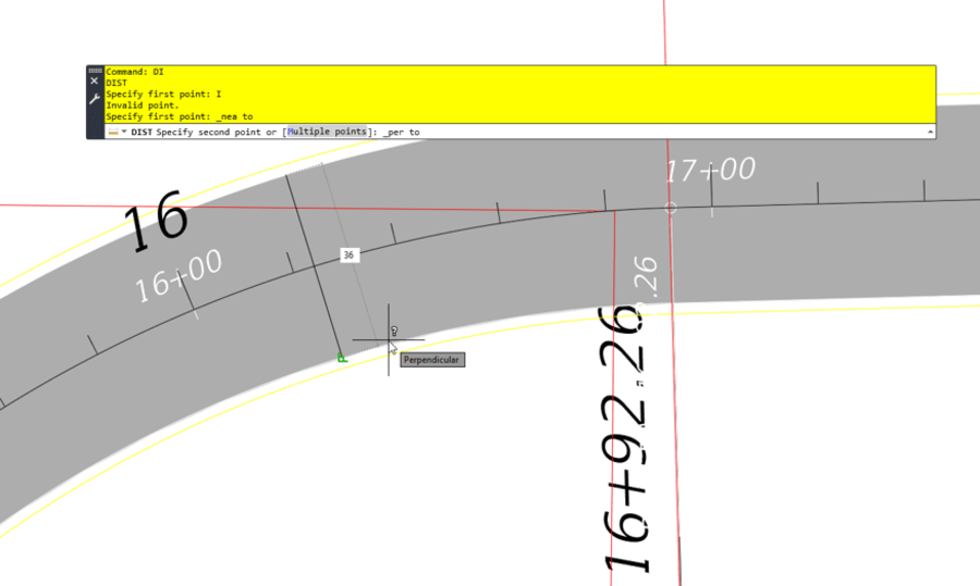 MEASUREGEOM tip AutoCAD