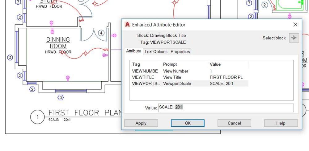 viewport attribute editor