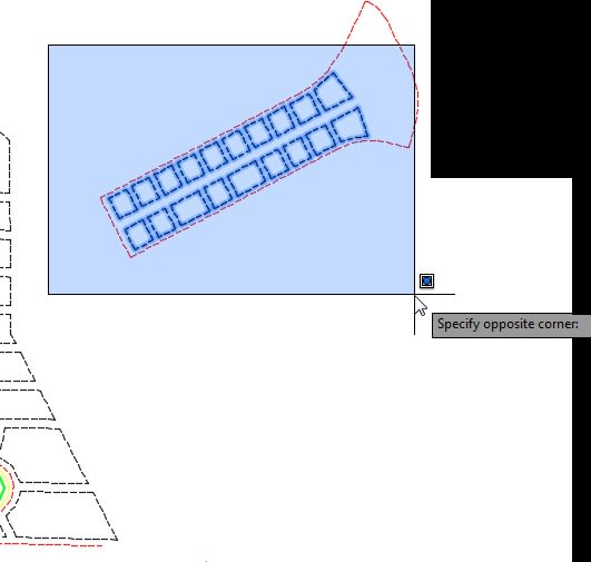 Select Objects Transform tool AutoCAD Map 3D toolset