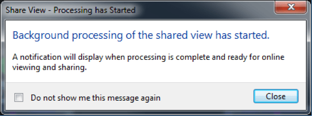 AutoCAD 2019 Shared Views: Background Processing