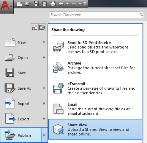 AutoCAD 2019 Shared Views: Creating a Shared View