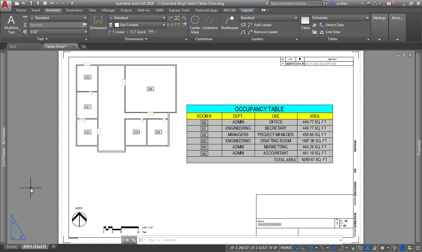 AutoCAD Tables: Exploring the Features and Benefits of AutoCAD