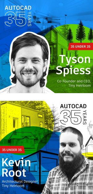 AutoCAD 35 Under 35 List: Tyson Spiess and Kevin Root