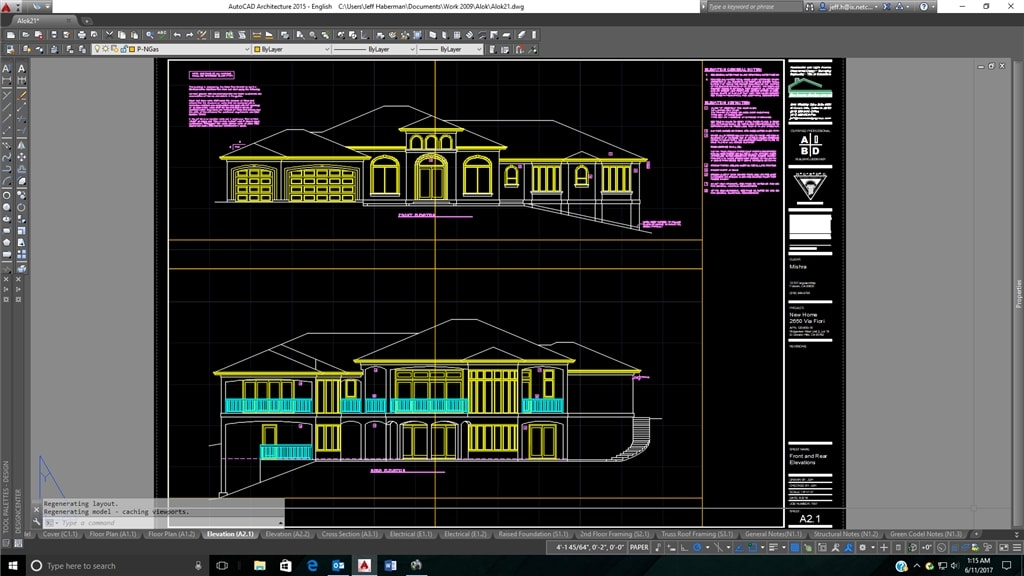 Custom Home Design And Autocad Architecture Jeff Haberman Building Designer Autocad Blog Autodesk
