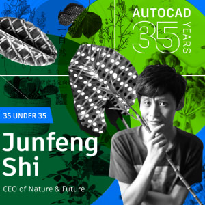 AutoCAD 35 Under 35: Junfeng Shi