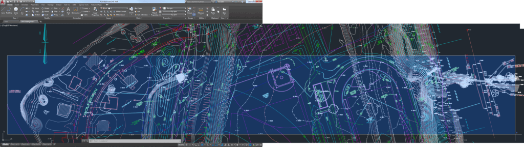 Offscreen Selection in AutoCAD 2018