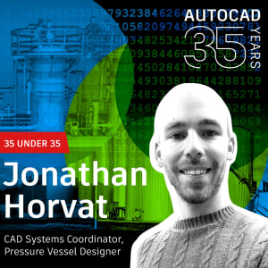 AutoCAD 35 Under 35 Young Designers: Jonathan Horvat