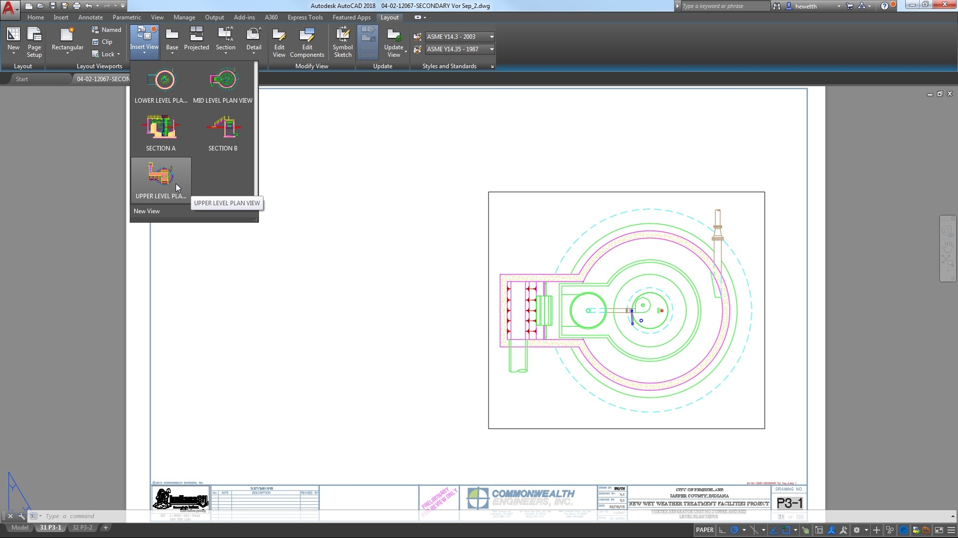 AutoCAD 2018.1 Update: Views and Viewports