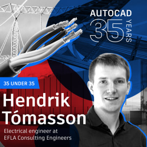 AutoCAD 35 Under 35: Hendrik Tómasson