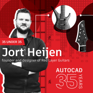 AutoCAD 35 Under 35: Jort Heijen