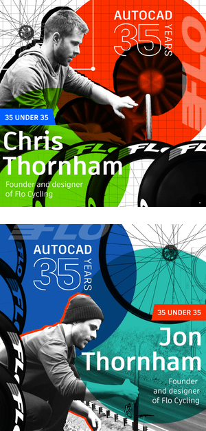 AutoCAD 35 Under 35 Young Designers: Chris and Jon Thornham