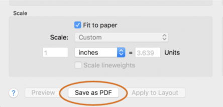AutoCAD 2018.1 for Mac Update: Automatic PDFs