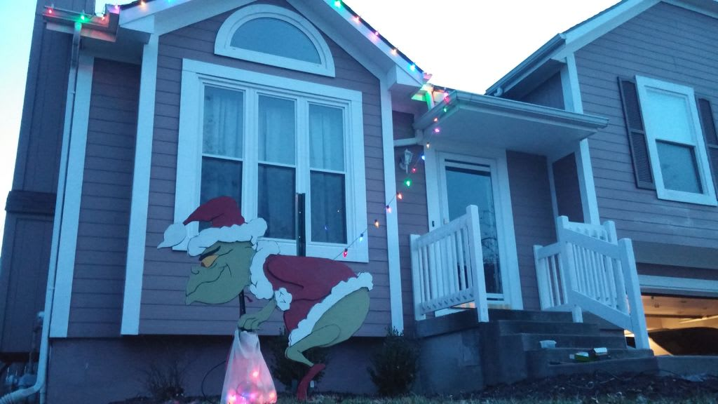 AutoCAD Grinch Holiday Decorations