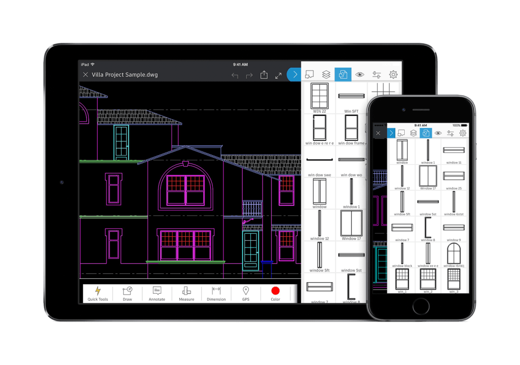 What's New in AutoCAD 2018 Technology and Performance: AutoCAD mobile app