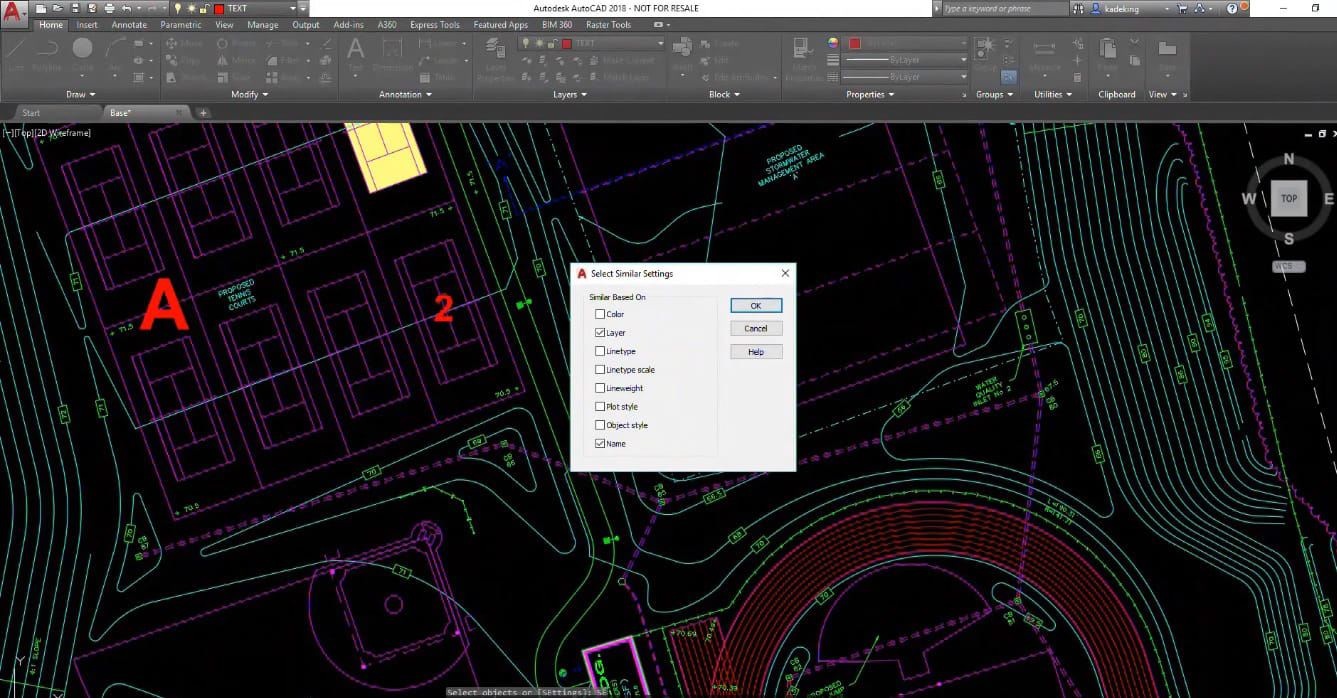 Select Objects and Clean Up Drawings in AutoCAD