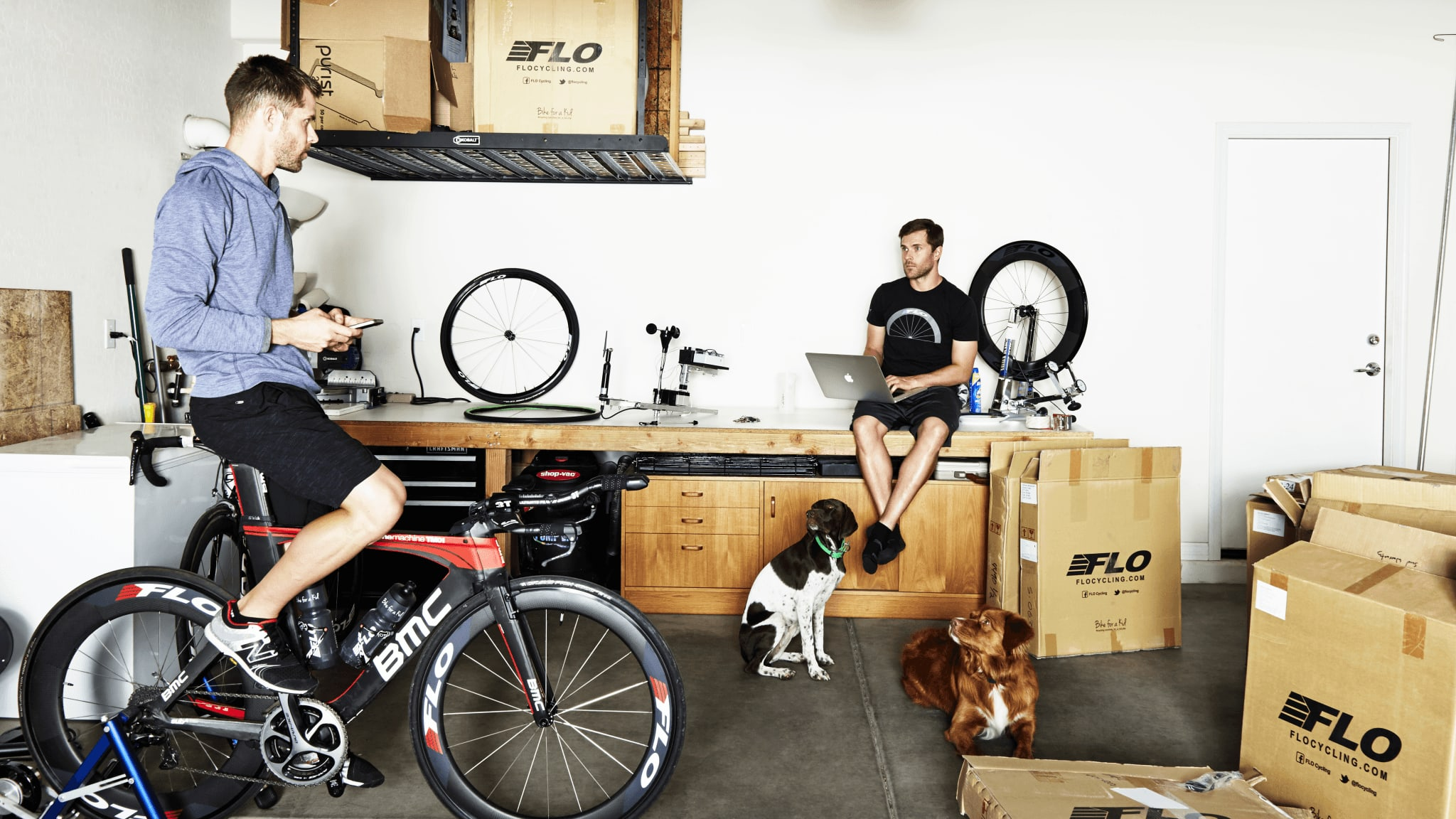The Brothers Behind Flo Cycling: Jon and Chris Thornham