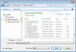 Saving a .lsp file in Notepad. Bootstrap AutoCAD Deployments for Customizations.