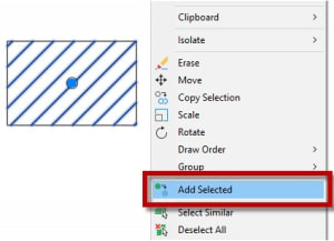 Add Selected AutoCAD