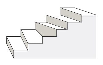 AutoCAD stairs drawing. Data dependability. Tuesday tips.