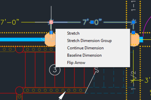 AutoCAD Object Grips