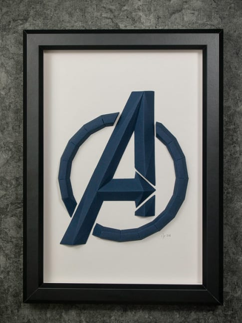 Surprising Things Designed in AutoCAD: Avengers Art