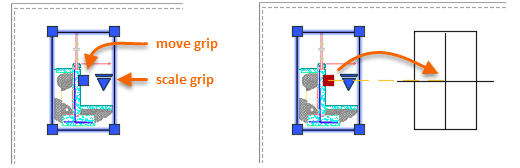 AutoCAD layout viewport