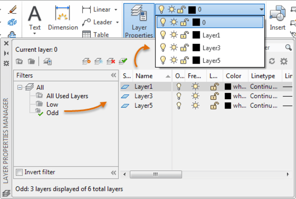 AutoCAD layer groups. Tuesday tips 7.