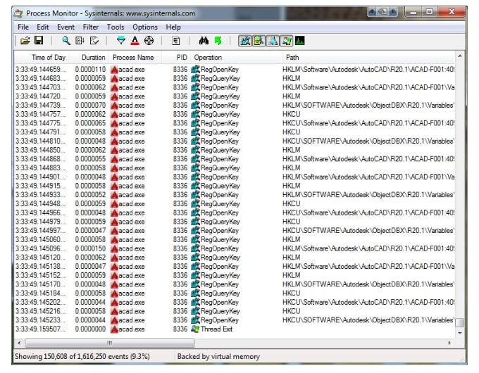 CAD Manager Tips: Process Monitor