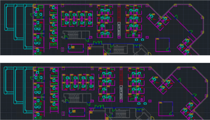 AutoCAD DWG Compare: Before AutoCAD 2019