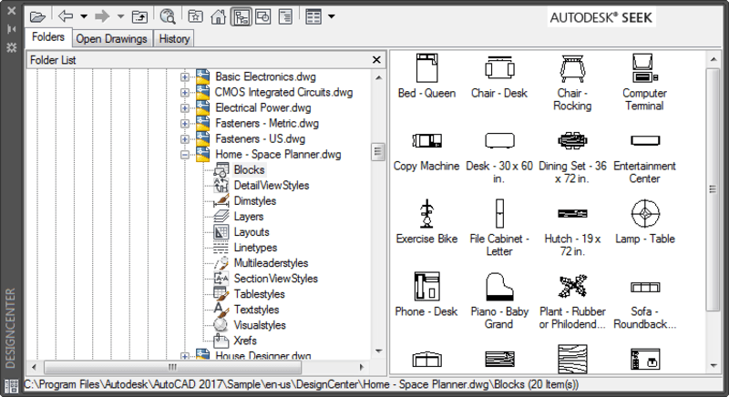 AutoCAD DesignCenter tab block definitions. Tuesday Tips with Heidi.