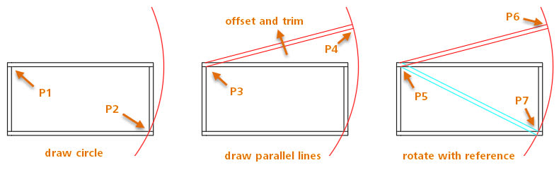 AutoCAD drawing 1. Real-life AutoCAD drawing tips. Tuesday Tips.