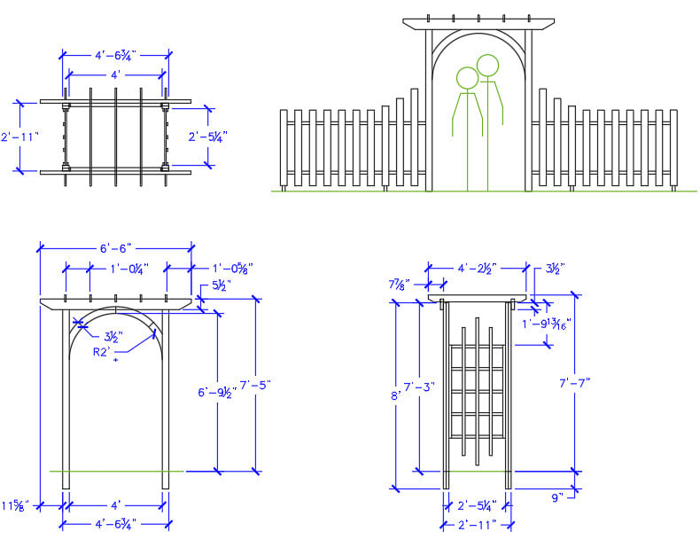 AutoCAD dimensions examples. Hitchhiker's guide to basics of AutoCAD dimensions.