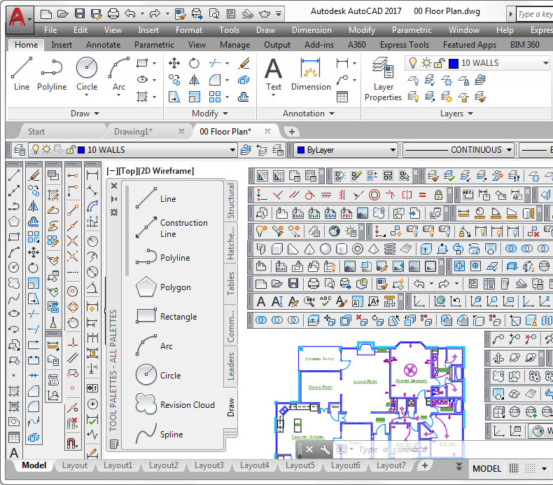 AutoCAD user interface. UI elements overload. Tuesday tips with Dieter.