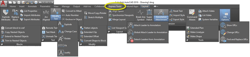 Tuesday Tips: AutoCAD Express Tools