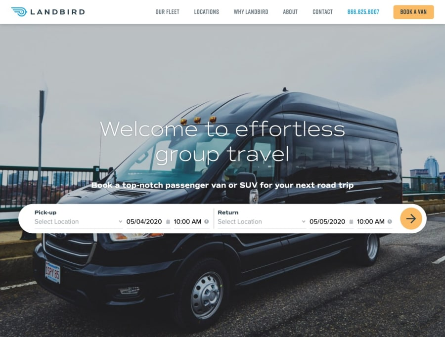 Landbird Homepage