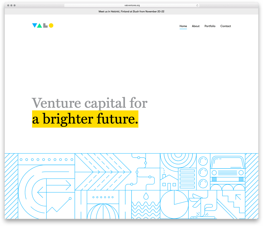 Screenshot of Valo Ventures