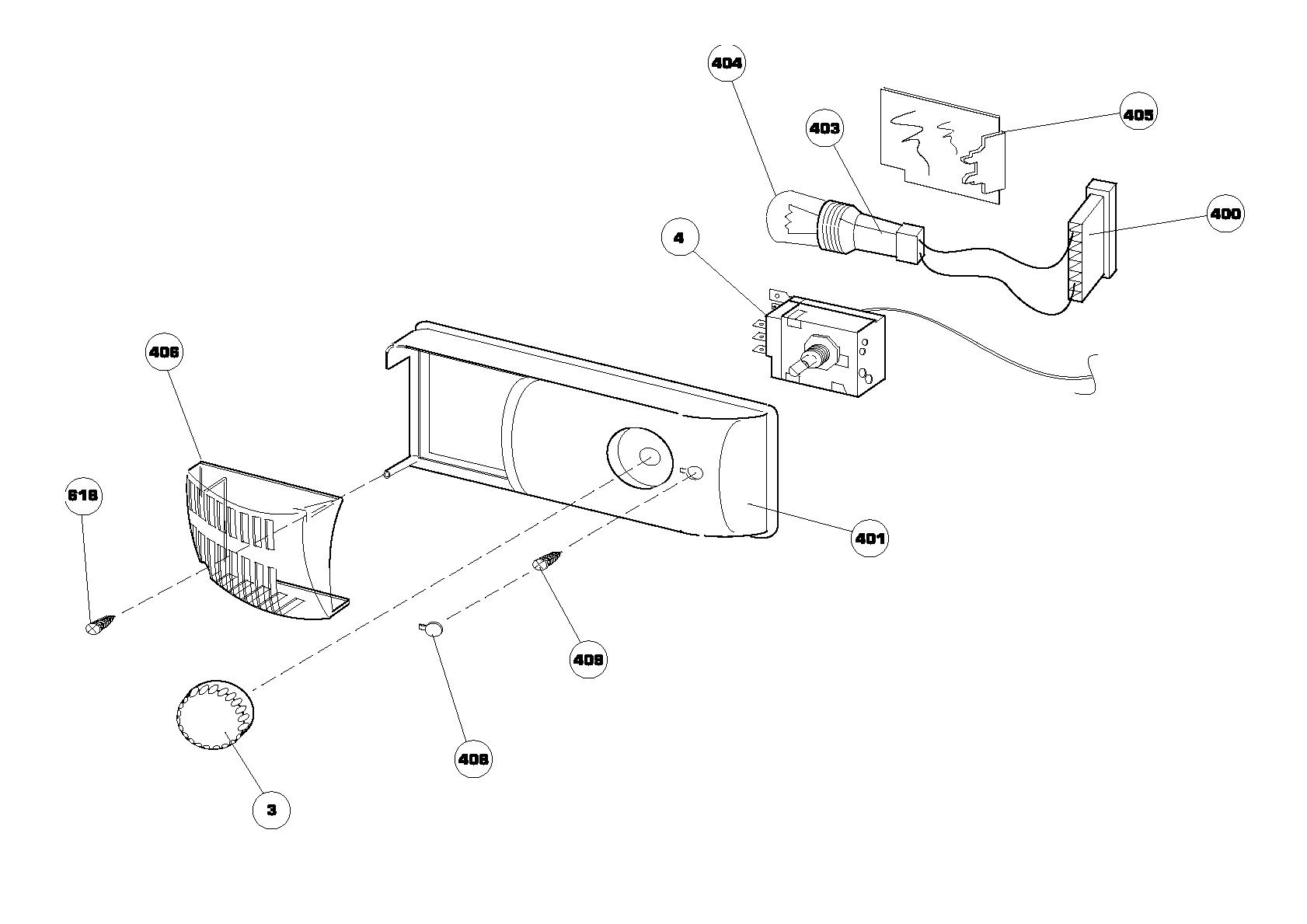 Beko Cn260 Fridge Spares Freezer K59 Thermostat Wiring Diagram