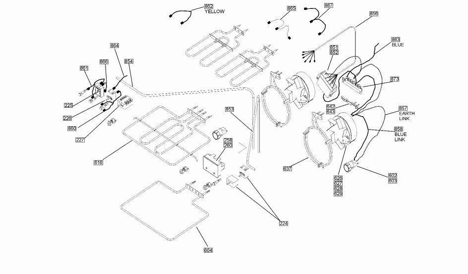 Rangemaster 6247 110 Df Ng Cream Elan Parts Partmaster