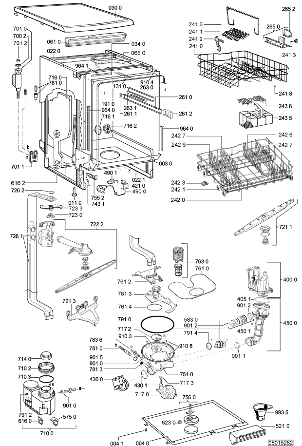 pi ces d tach es whirlpool lave vaisselle adp 6730 wh. Black Bedroom Furniture Sets. Home Design Ideas