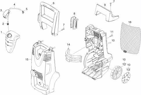 Karcher K4.91M K4 Pressure Washers Spares | BuySpares on