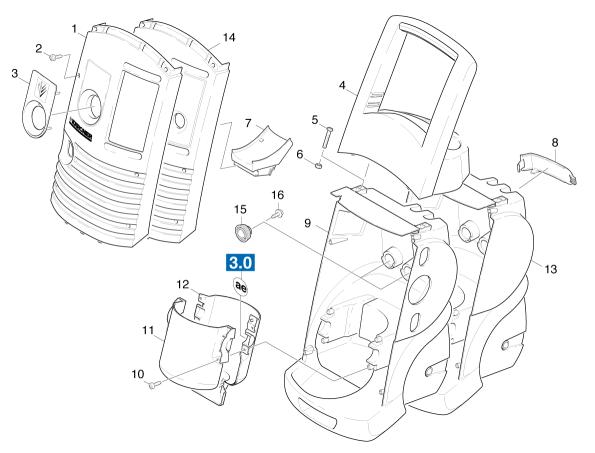 Karcher K685m Wb K6 Pressure Washers Spares