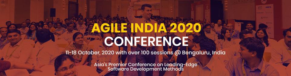 Agile India 2020 Banner