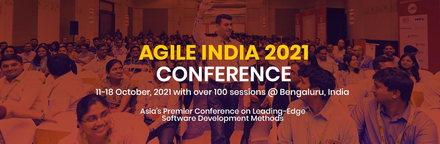 Agile India 2021 Banner