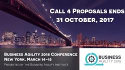 Business Agility 2018