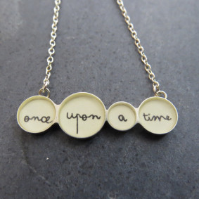 Once upon a time necklace.