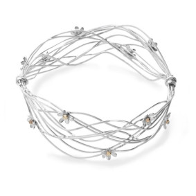 Scribbles bangle wide.