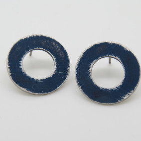 Dark blue cut out buoy studs.